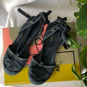 Prada Denim Sandals!